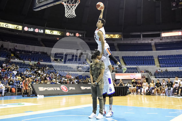 Rey Guevarra admits changing dunks routine in face of threat from Chris Newsome