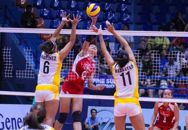 Cignal a win away from salvaging fifth place after straight-sets win over Navy