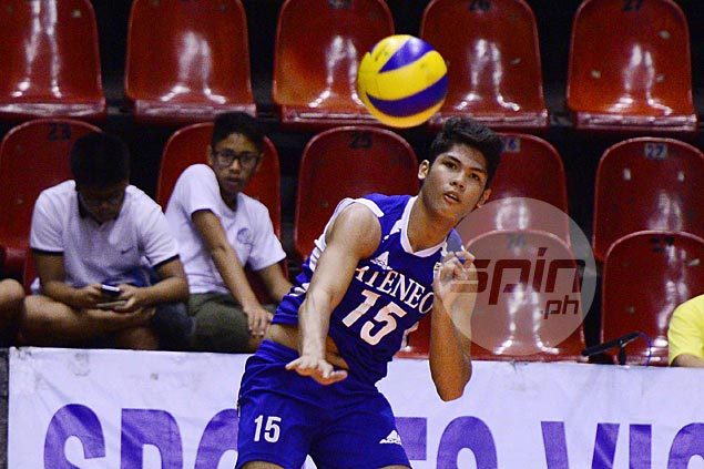 Ateneo sweeps its way to Spikers Turf finals with easy win over La Salle