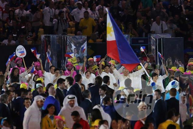 Filipino athletes join world's best in Rio Olympics Parade of Nations