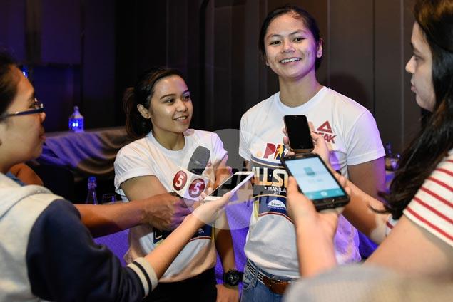 Sarah Mercado, Camille Ramos glad to see PBA All-Stars put spotlight on women's basketball