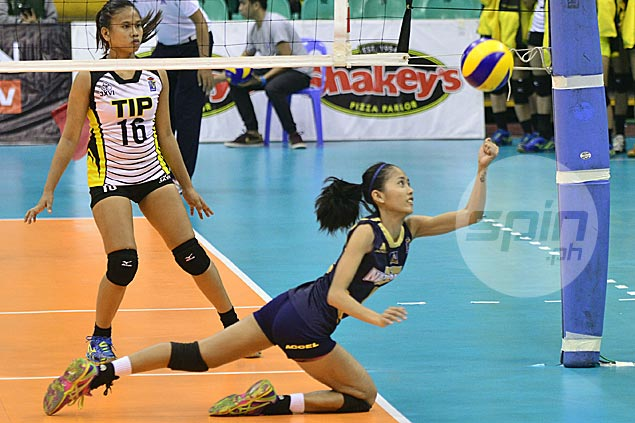 Former spiker Jasmin Nabor enjoying transition to setter as NU off to hot start in V-League