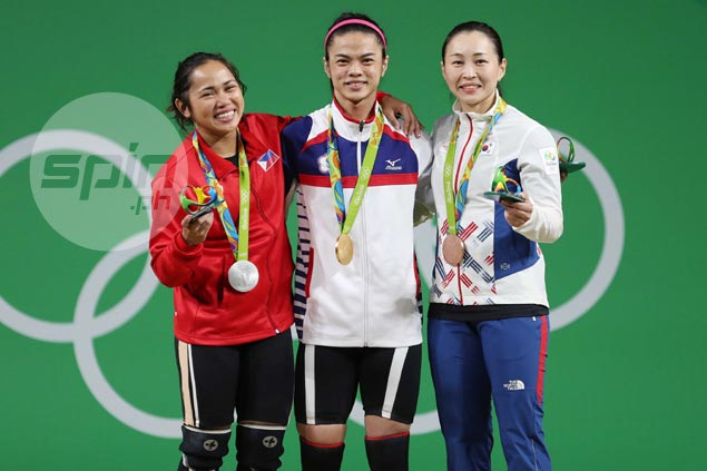 Thanks to new incentives law, Hidilyn Diaz set to get P5M for silver medal. That's just for starters