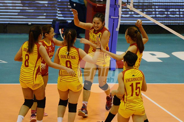 Unbeaten Lady Stags find way to outlast Letran even with Soltones far from best form