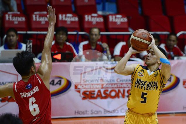 Pontejos, Teodoro help JRU Bombers deny San Beda a sweep of NCAA first round
