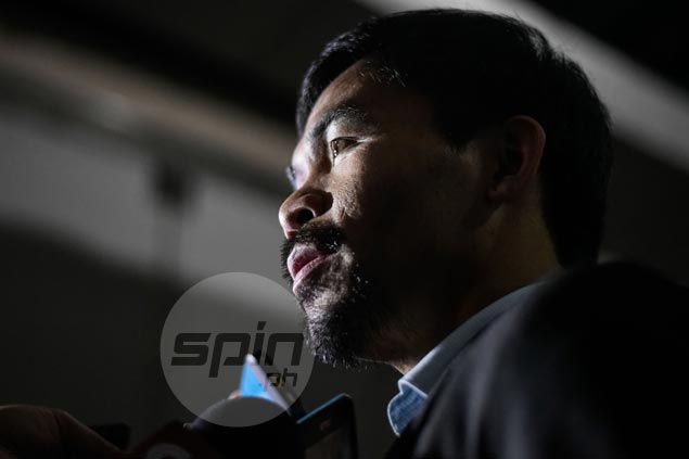 Manny Pacquiao set to go to US next month to promote comeback fight against Jessie Vargas