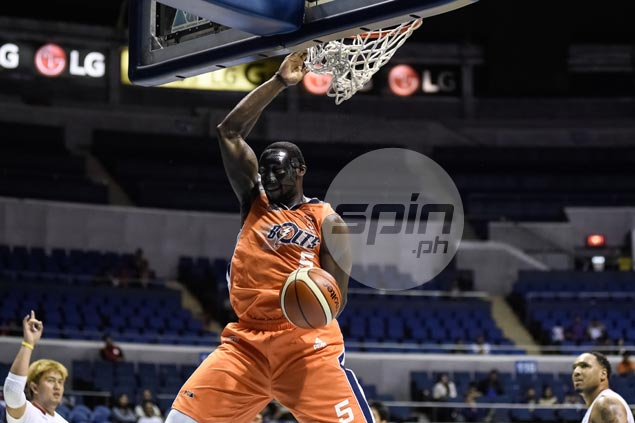Quick-fire Meralco rides big game by 'masked man' Durham, sends Rain or Shine crashing