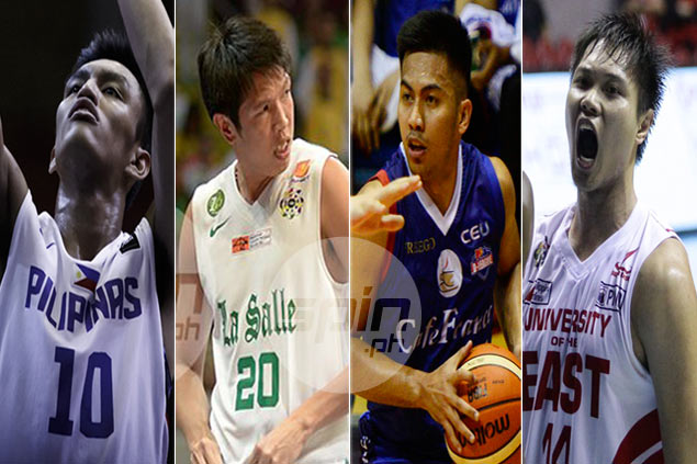Wondering who they are? Meet Gilas new boys Carino, Abundo, Javier and Andrada