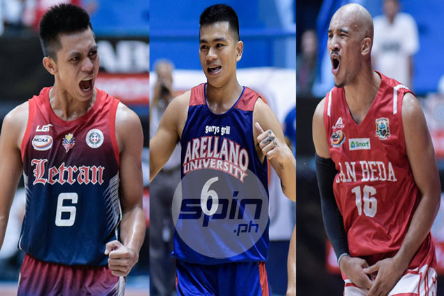 Rey Nambatac, Jio Jalalon turn up rivalry, lead opposing sides in NCAA All-Star game