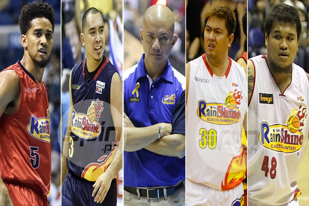 Expiring contracts of star players not a distraction for Rain or Shine, says Guiao