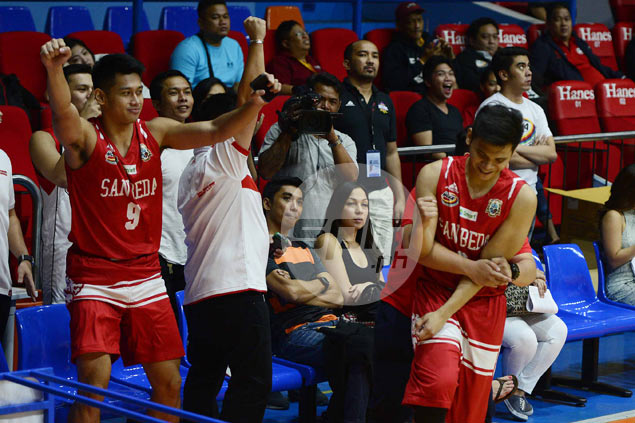AC Soberano's conquest of three-point shootout a bittersweet experience for San Beda coach
