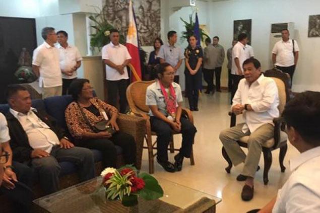 Duterte on how he inspired Hidilyn Diaz: 'Sabi ko sa kanila wag umuwi kapag hindi nanalo'