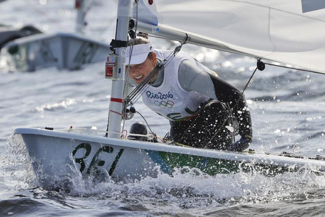 Star Belgian sailor first Olympic athlete to fall ill from sailing on polluted Rio bay