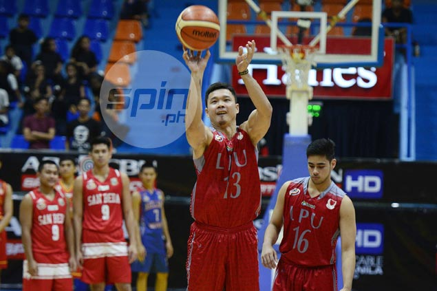 Gary David fulfills wish to play in NCAA All-Stars as part of Lyceum shooting team