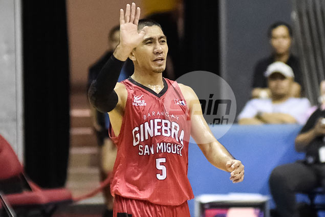 Nothing, it seems, can unsettle Ginebra's LA Tenorio as he rides wave of good form