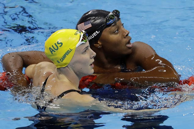 US swimmer Simone Manuel glad to inspire and help 'diversify the sport' after historic win