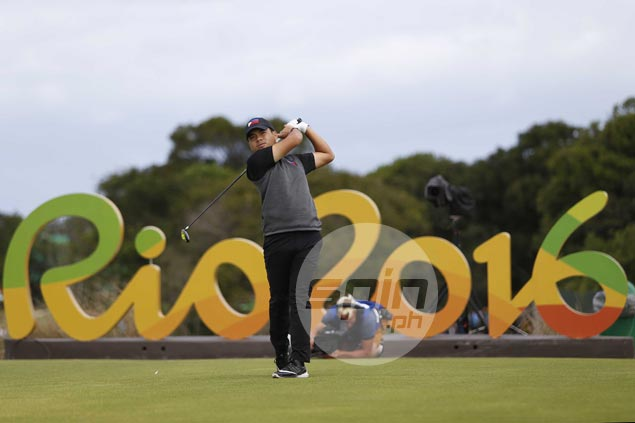 Miguel Tabuena fails to sustain hot start, stumbles to 73 at start of Olympic golf