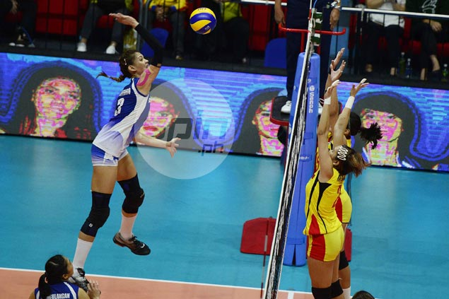 Jaja Santiago, Cherry Rondina star as Foton downs F2 to force title decider in Super Liga All-Filipino