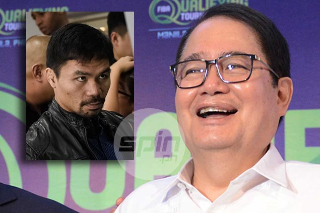 Ed Picson lays down groundwork for Abap election amid talk of possible Pacquiao involvement