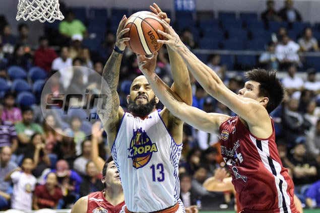 Uichico says feeling-out process behind Ammons' poor shooting in new TNT import's strong debut