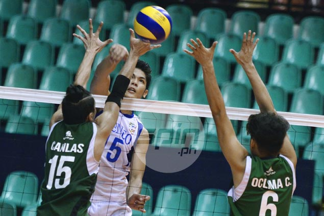 Ateneo makes quick work of NCBA to stay unbeaten in Spikers Turf