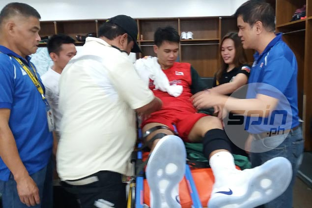No end to Blackwater misfortune as big man JP Erram goes down with knee injury