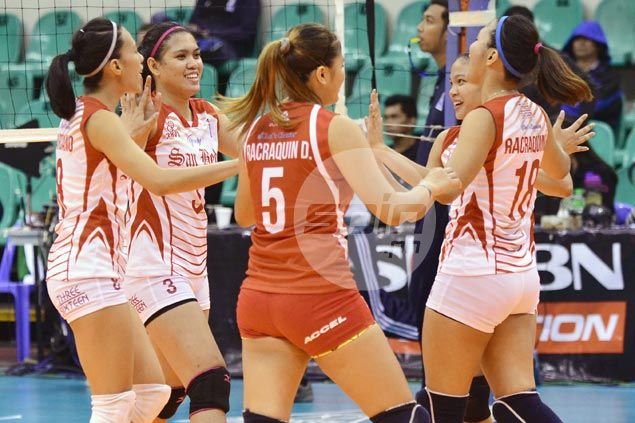 Janine Marciano, Francesca Racraquin lead way as San Beda edges St. Benilde in battle of also-rans