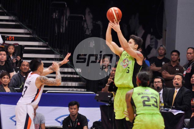 Anthony Semerad an unlikely hero as GlobalPort outlasts Meralco in second overtime