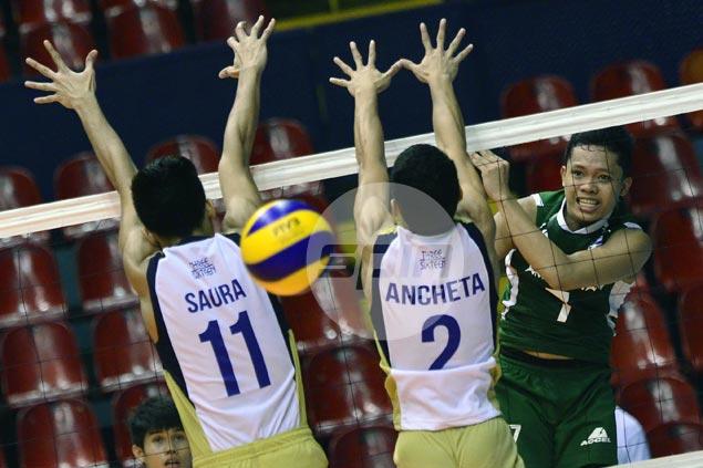 Raymark Woo, Cris Dumago show way as La Salle edges ertswhile unbeaten NU in Spikers Turf