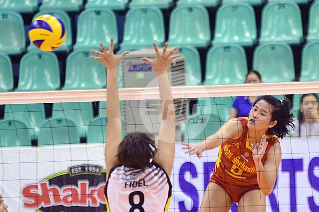 San Sebastian overcomes TIP in five sets to reach V-League quarterfinals