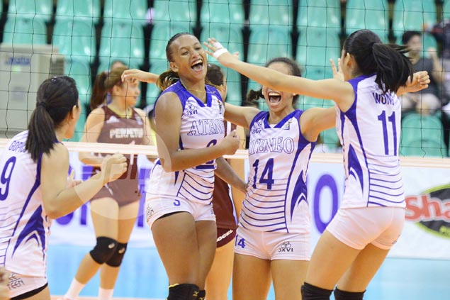 Ateneo Lady Eagles end V-League dry spell with three-set win over Perpetual