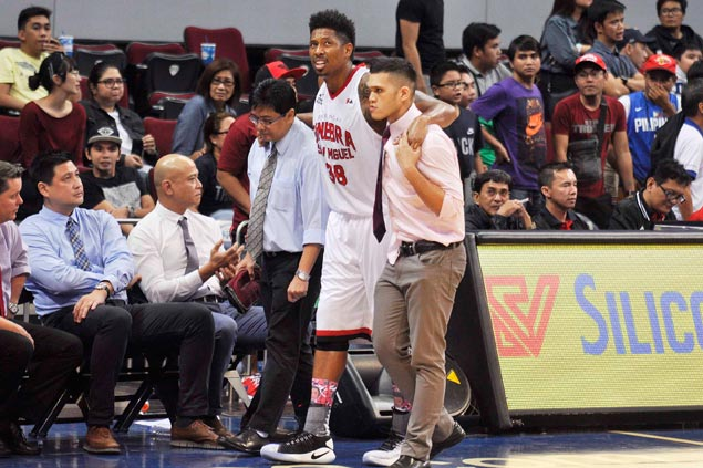 Chris Ross, David, Devance among casualties as double-overtime game takes its toll