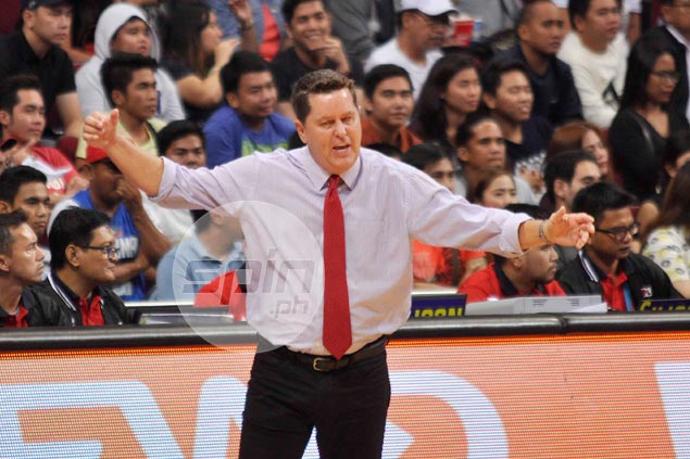 Tim Cone clears Ginebra players from blame, says failure to call timeout his fault