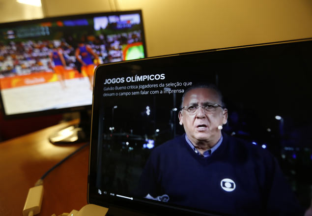 Brazil's version of Bob Costas gets share of love - and hate - with loud Olympic coverage