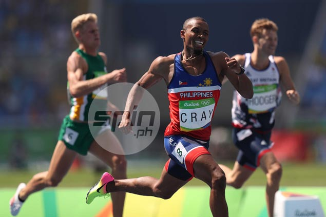 Eric Cray unfazed by tough opposition in semifinals of 400m hurdles in Rio Olympics