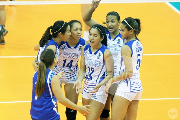 Healthy or not, you can count on Jia Morado to set things right for Lady Eagles