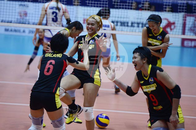 F2 Logistics recovers from a set down to beat Foton and claim Super Liga All-Filipino title