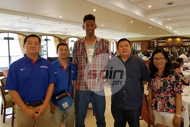 Filipino-Nigerian teen AJ Edu quietly slips into town to strike deal with Batang Gilas