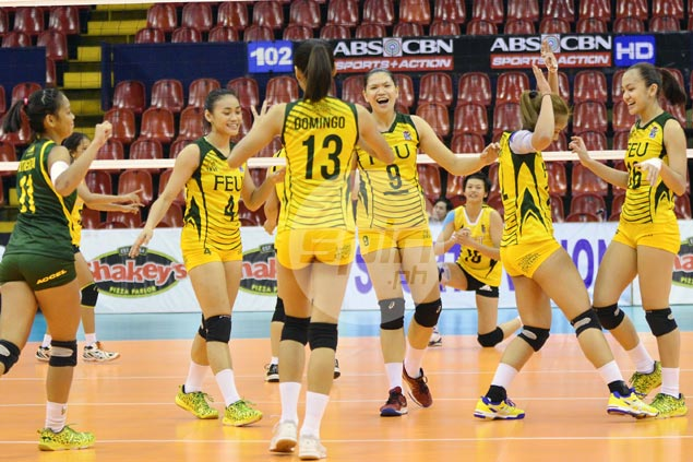 FEU clobbers undermanned UST in straight sets to keep V-League slate unblemished