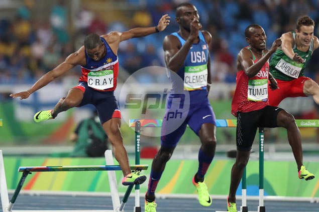 Eric Cray falls short of reaching Olympic 400m hurdles finals after finishing seventh in semifinals