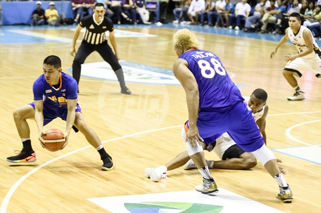 NLEX guard Kevin Alas glad to turn from heel to hero with late steal off James White