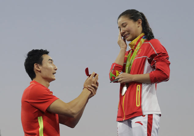 Colorful 'mudslides' inject personality into once rigid, staid army of China athletes