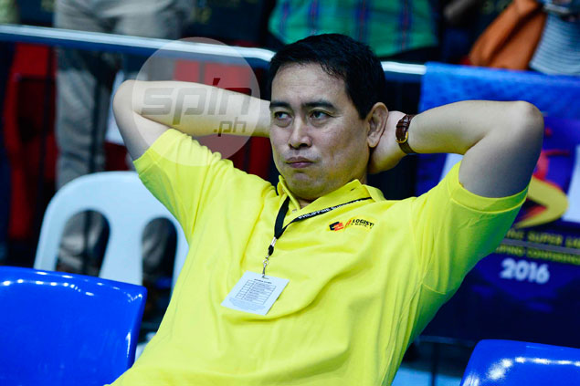 Assistant coach Ramil de Jesus explains why he's unable to take part in PSL Manila training
