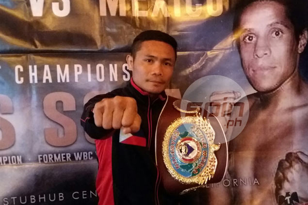 Donnie Nietes leaves for U.S. to start second part of training for Edgar Sosa fight