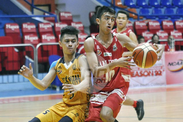 Arellano Braves, San Beda Red Cubs dispatch separate foes to stay on top of NCAA juniors