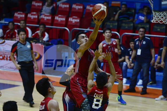 Lyceum Pirates pull off stunner over Letran on MJ Ayaay's game-winning layup