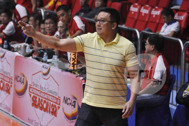 Hard-to-please coach Meneses finds reason to smile as JRU starting to meet his expectations