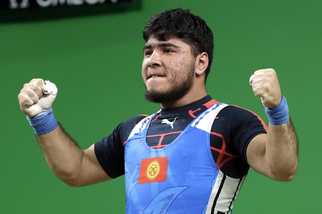 Kyrgyzstan weightlifter first to be stripped of medal won in Rio for doping violation