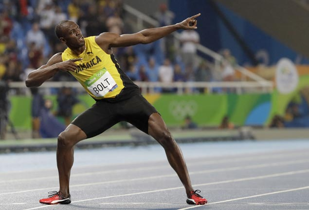 Bolt after triple-double: 'I'm trying to be one of the greatest. Be among Ali and Pele'