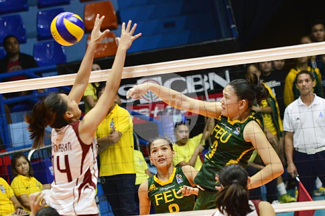 FEU Lady Tamaraws edge UP Lady Maroons in five to stretch unbeaten run to four matches